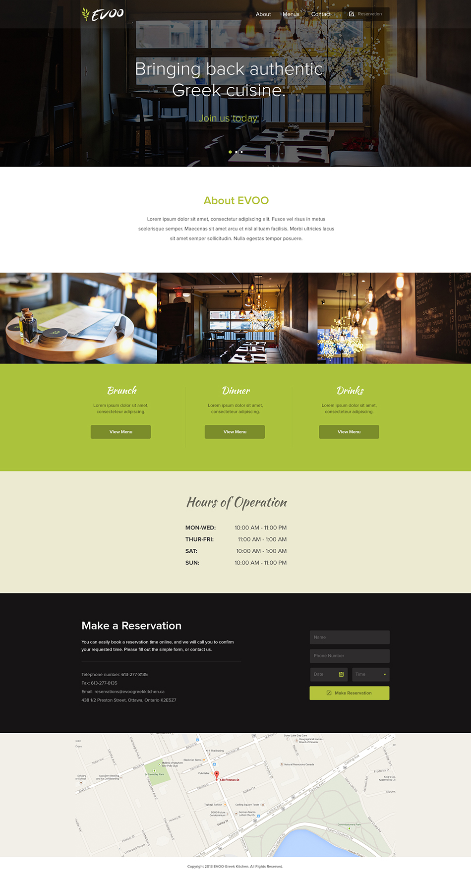 JPBrown-EVOO-WebDesign